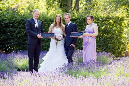 Michelle Dusty Botanischer Garten Lavendel Flieder Lila Hochzeit Wedding Trauzeigen Just Married - Hochzeit Fotograf Diana Jill Fotografie Gütersloh Paderborn