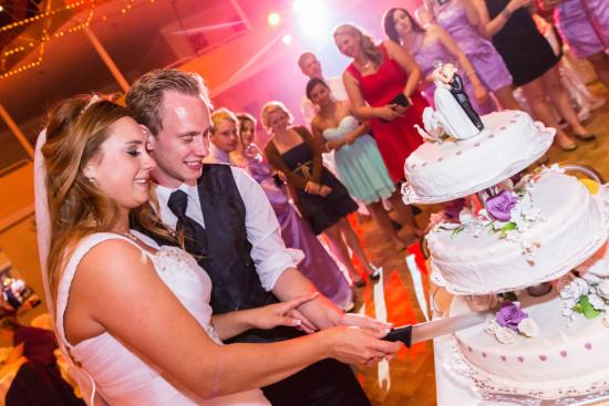 Michelle Dusty Hochzeit Hochzeitstorte Tortenanschnitt Torte anschneiden Party Stüwe Feier Fotograf Hochzeitsfotograf Gütersloh - Diana Jill Fotografie