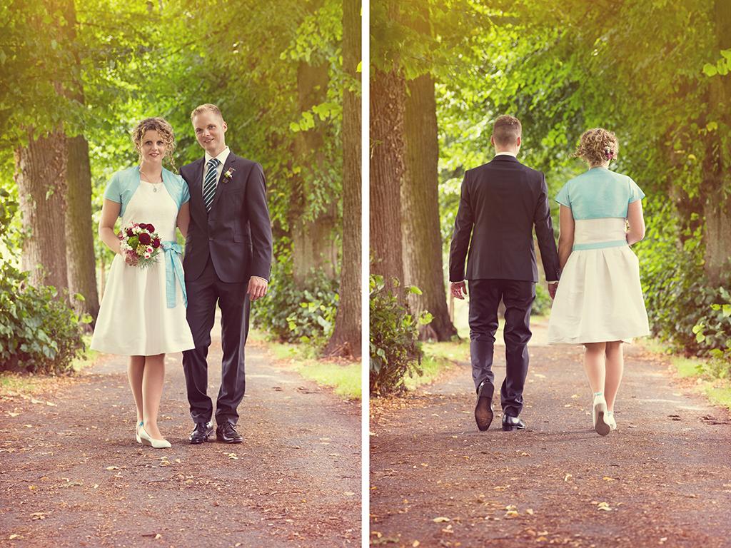 Hochzeitsfotograf Hochzeit Borchen Nordborchen Mallinckrodthof Fotograf Paderborn Shooting Allee Outdoor - Diana Jill Fotografie