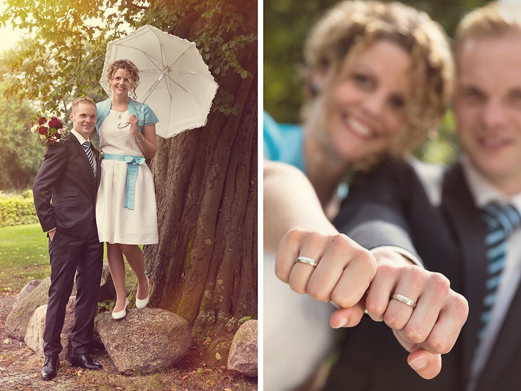 Hochzeitsfotograf Hochzeit Borchen Nordborchen Mallinckrodthof Fotograf Paderborn Shooting Outdoor Ringe Power Schirm - Diana Jill Fotografie