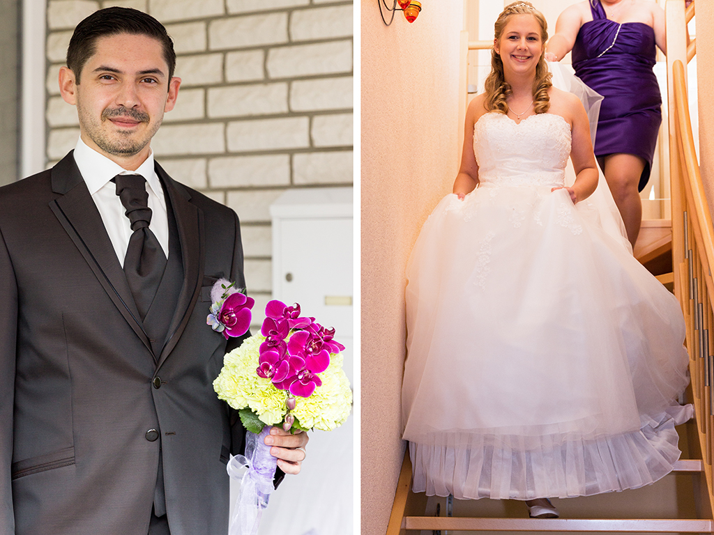 Daniela Andreas Hochzeit Vorbereitungen Getting Ready First Look Bräutigam Braut Paderborn Sande Delbrück Hochzeitsfotograf - Diana Jill Fotografie