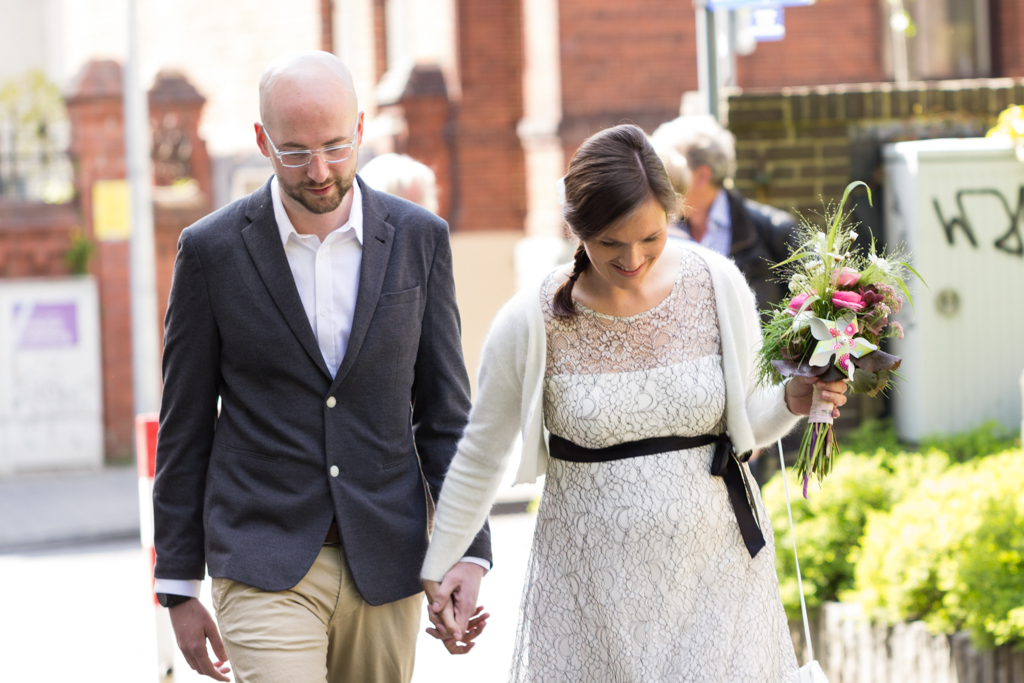 Hochzeitspaar Brautpaar Hochzeit Gütersloh Standesamt Hochzeitsfotograf Paderborn - Diana Jill Fotografie