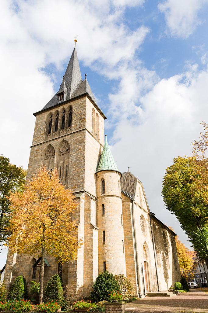 St Petrus und Paulus Kirche Scharmede Paderborn Hochzeit Hochzeitsfotograf Fotograf Bielefeld Salzkotten Gütersloh Diana Jill Fotografie