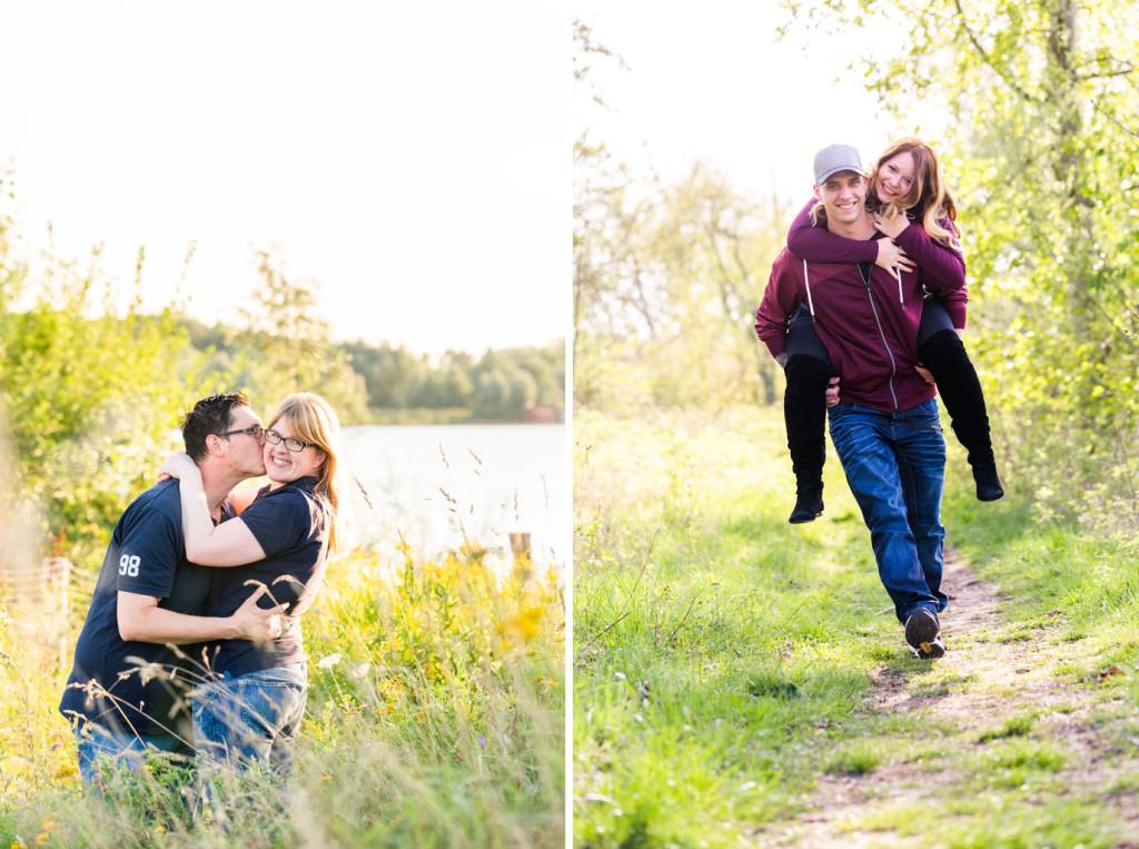 Verlobungsshooting Shooting Verlobung Engagement Engagementshooting Paarshooting Hochzeitsfotograf Kreis Paderborn Borchen Delbrück Tallesee Lippesee