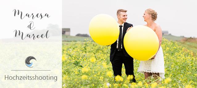 Eine grau-gelbe Hochzeit